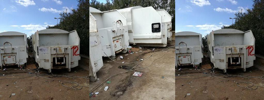 Marsala: Disagi presso l'isola ecologica zona porto