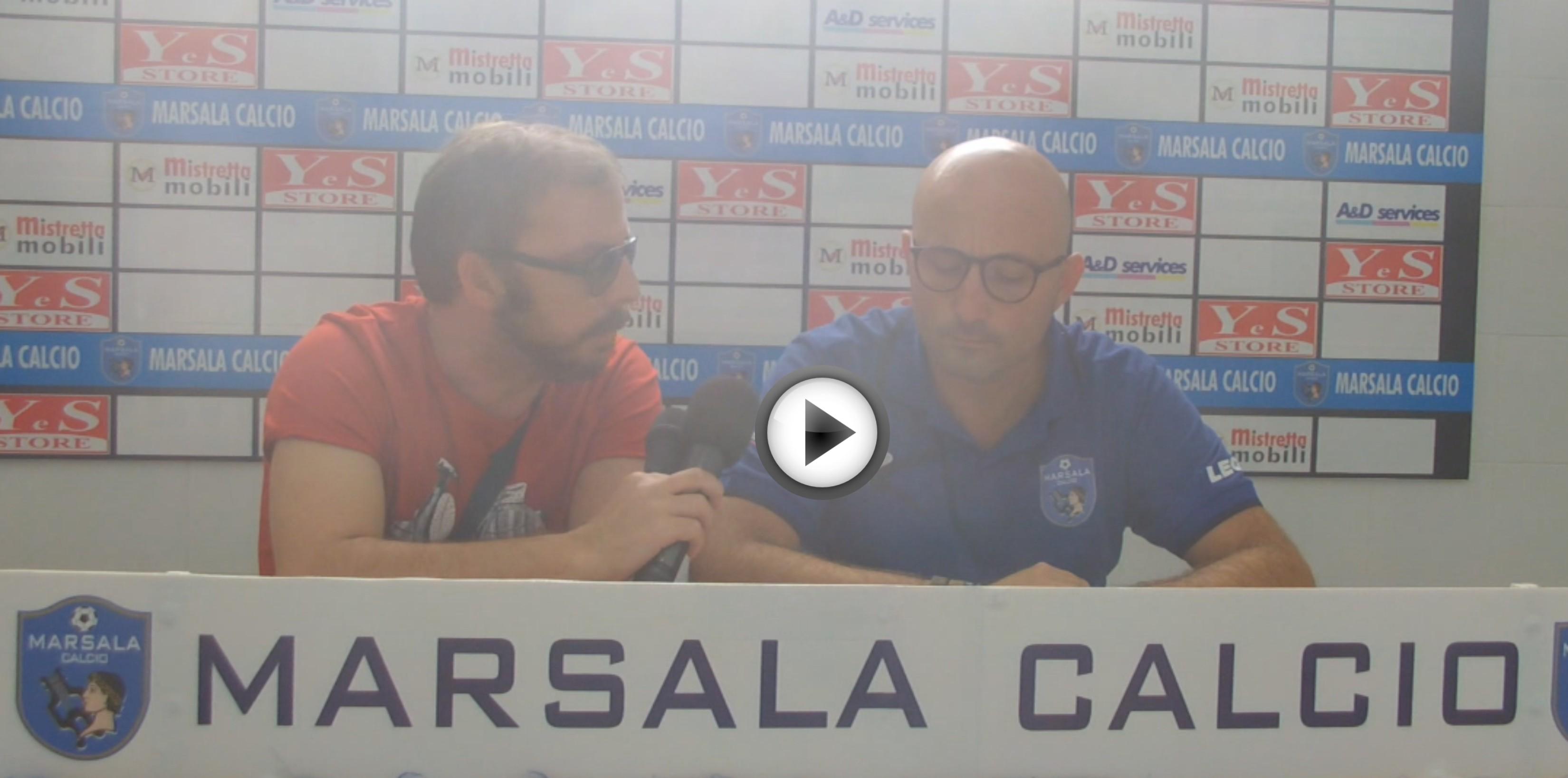 Calcio, le interviste dopo gara di Marsala – C. di Caccamo