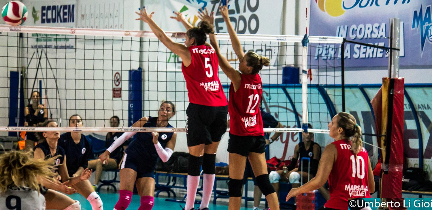 VOLLEY: Sorelle Ramonda IPAG Montecchio – Sigel Marsala Volley 3-0 (25-22 / 26-24 / 25-23)