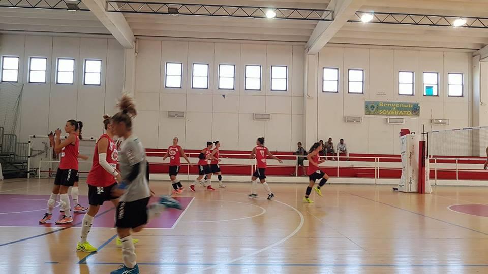Volley: La Sigel perde con onore al Pala Scoppa di Soverato