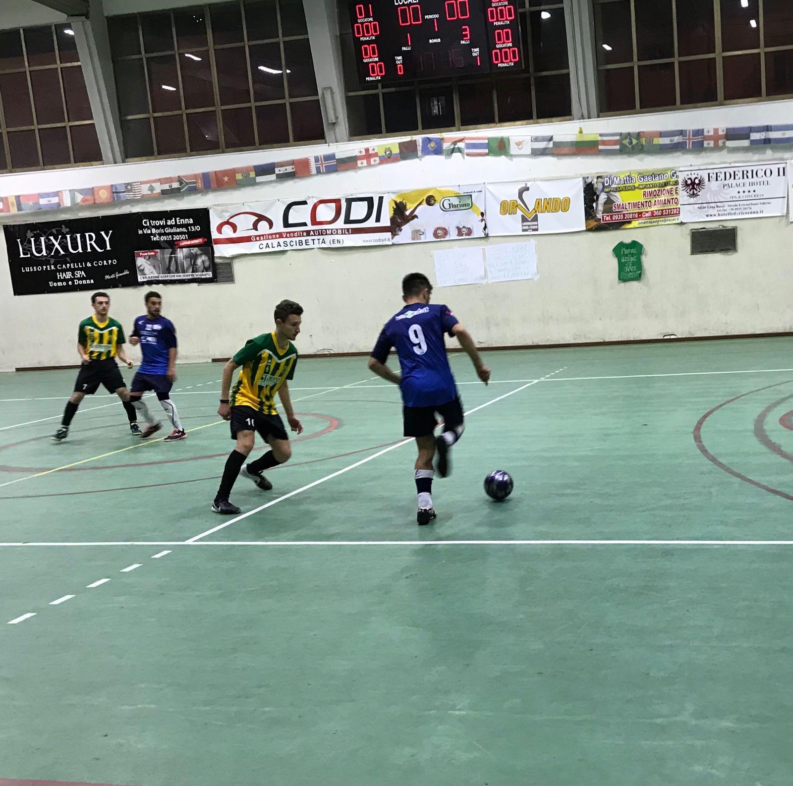 Serie C1 girone A – 8^ giornata   Enna Calcio – Marsala Futsal 3-3