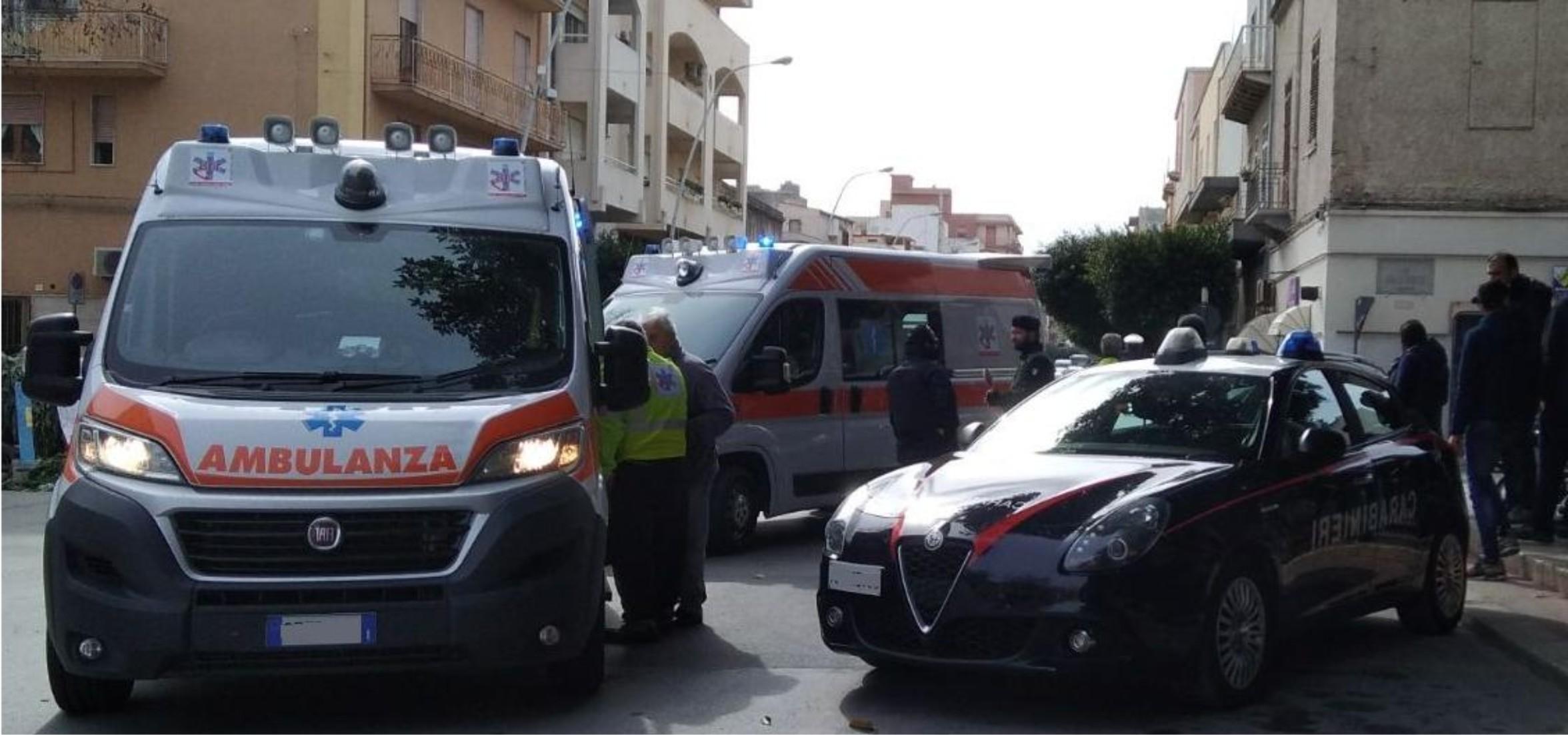 Marsala, uomo ferisce un carabiniere