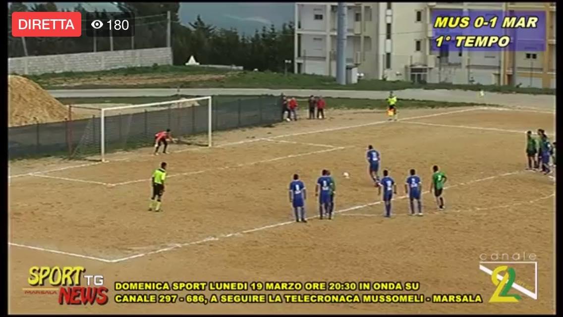 Calcio. Il Marsala espugna Mussomeli, gara ricca di goal