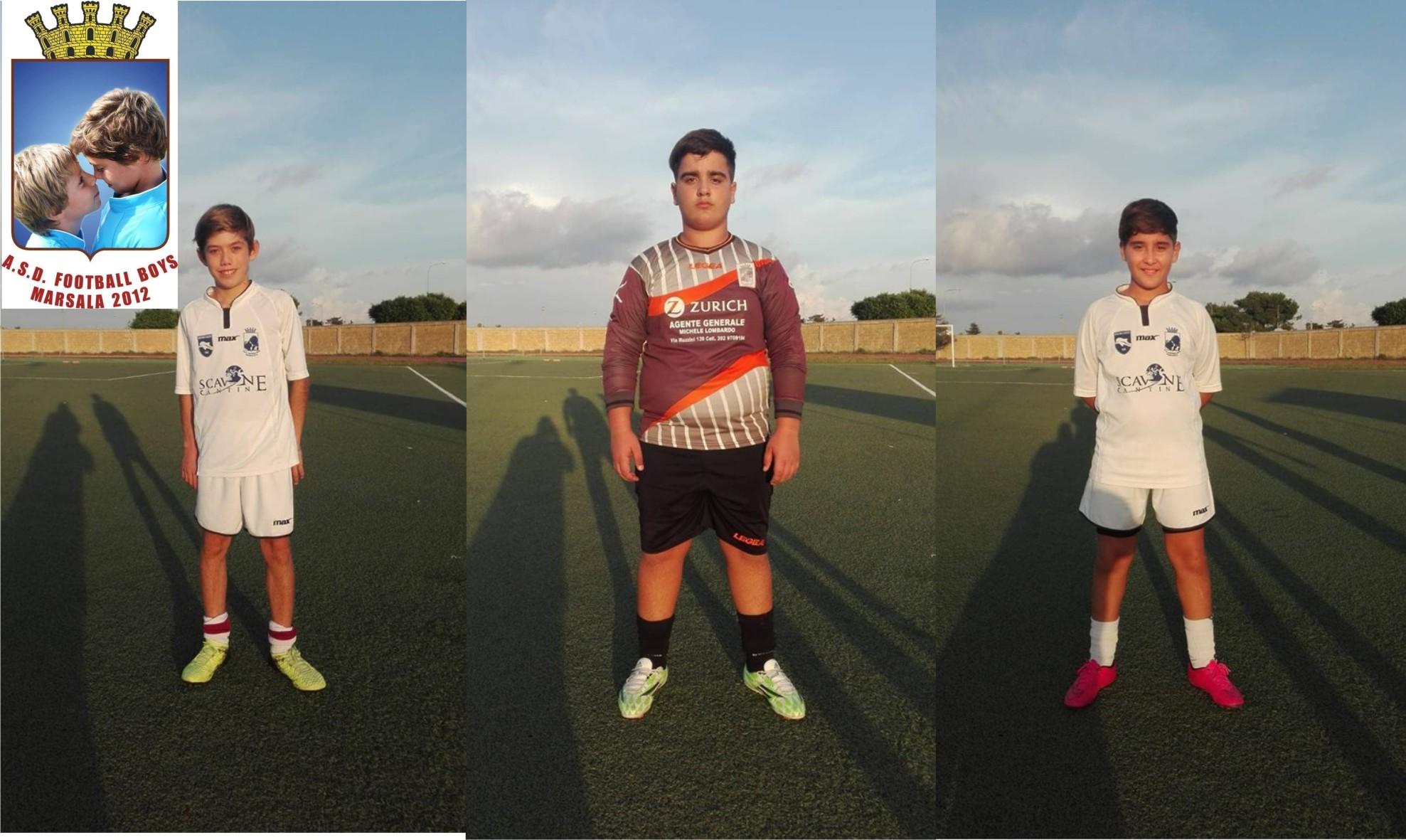 Tre giovani della scuola calcio Football Boys di Marsala verranno visionati a Napoli