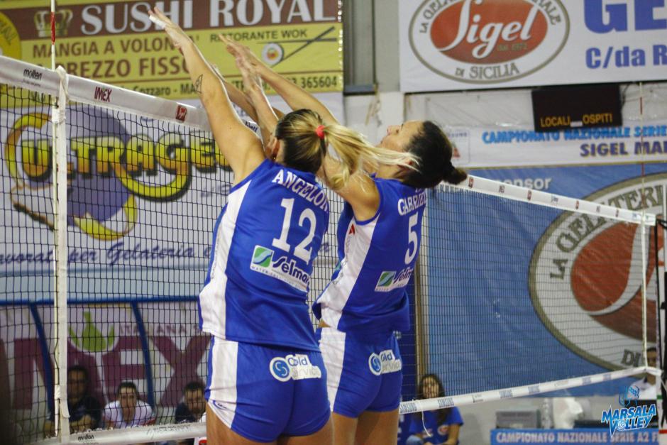 Sigel Marsala Volley-Eurospin Ford Sara Pinerolo: 3-1