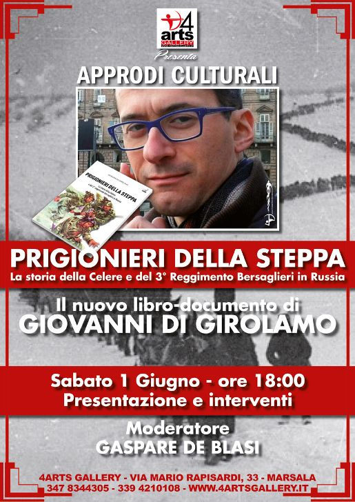 """""""PRIGIONIERI DELLA STEPPA"""" Giovanni Di Girolamo in 4ARTS Gallery"""