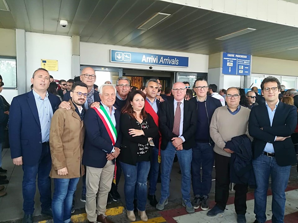 "FREEZE MOB ALL'AEROPORTO ""VINCENZO FLORIO"""