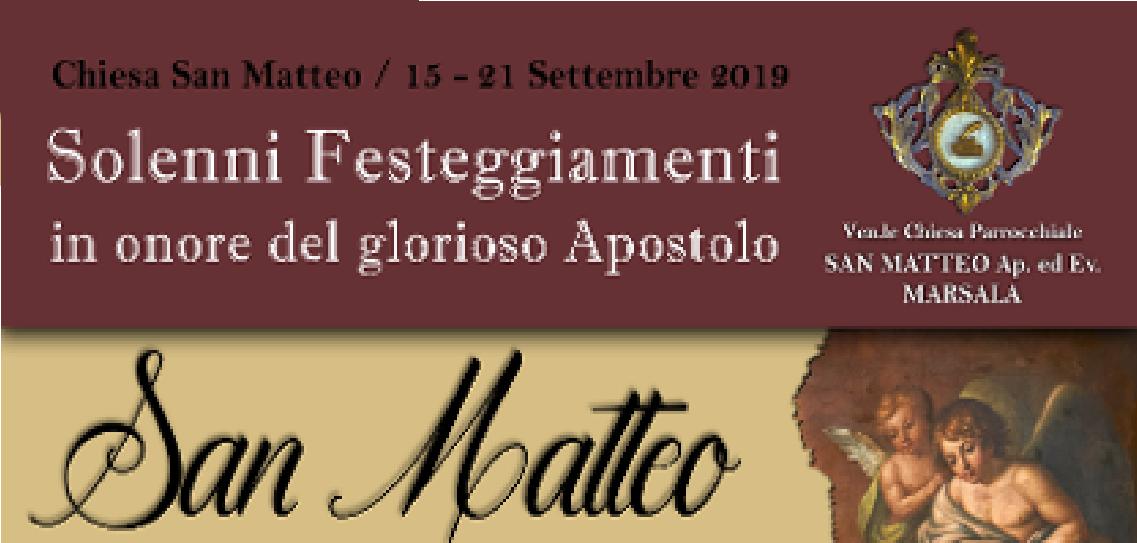 FESTEGGIAMENTI IN ONORE DI SAN MATTEO