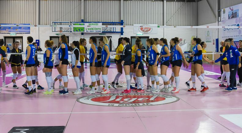 10^GIORNATA S.lle Ramonda IPAG Montecchio – Sigel Marsala Volley: 3-0 [25/23; 25/20; 25/18]